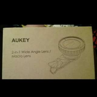 "BRAND NEW ""AUKEY"" 2-IN-1 WIDE ANGLE LENS/ MACRO LENS!"