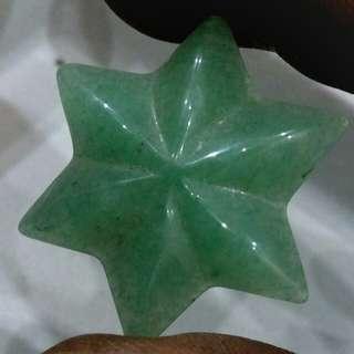 Aventurine star 32.5cts - the money stone