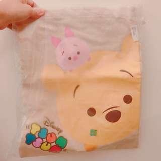 小熊維尼小豬手提袋