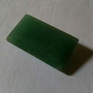 Faceted Aventurine octagon 31.1cts