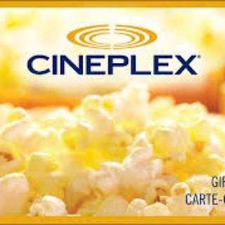 Cineplex Gift Card ($30)