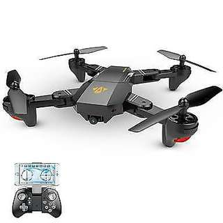 VISUO XS809W Foldable RC Drone Quadcopter 2.4GHz 6-Axis Gyro