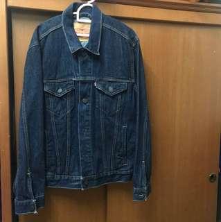 Original Levi's Trucker Jacket (Blue) Size S