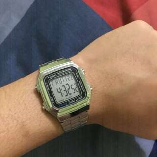Preloved Casio Stainless Vintage Watch