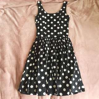 Dangerfield polka-dot dress