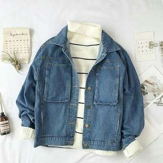 MF-Outwear Jaket atau Sweater Elvina