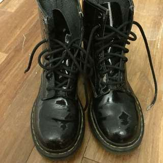 Dr. Martens Patent Leather Boots (6)