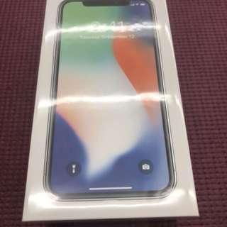 🚚 iPhone X 64G 銀白色
