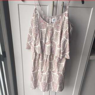 Pink Paisley Summer Dress