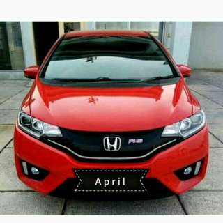 Honda jazz RS 1.5 at 2016 merah metalik