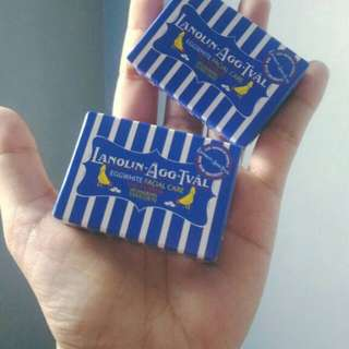 Lanolin soap mini 2pcs