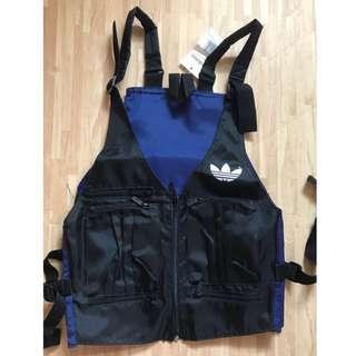 Adidas back pack vest 絕版 背包背心