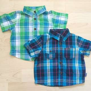 Mothercare Checked Shirt