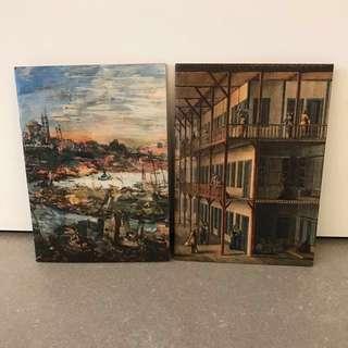 A5 Graphic Print Art Notebooks