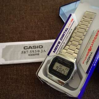 Casio Vintage series - A158WA-1 (bought at Japan)
