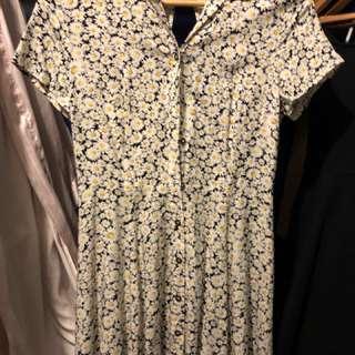 SUNFLOWER Print Dress