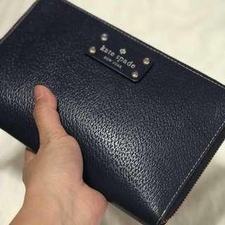 Authentic Kate Spade Zip Travel Wallet