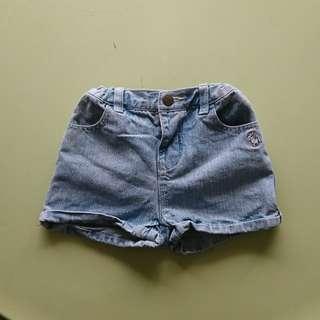 Poney denim shorts