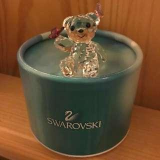 Swarovski 小熊水晶