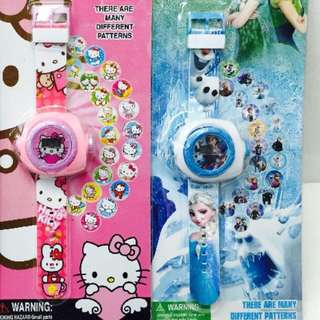 Kids Watch with projection images