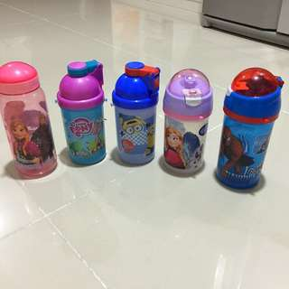 Drinking Bottles SET A