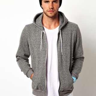 American apparel unisex hoodie