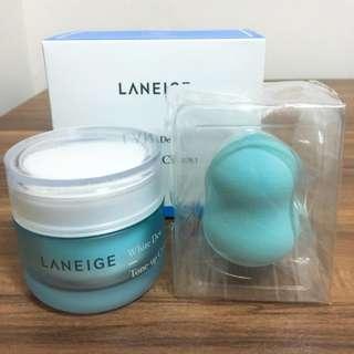 Laneige蘭芝-晶透潤白素顏霜 全新