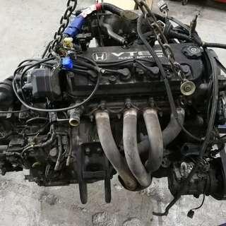 Honda accord s86/s84 used engine parts and drive train