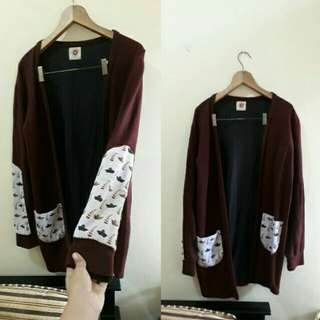 cardigan sweater outwear outer coat