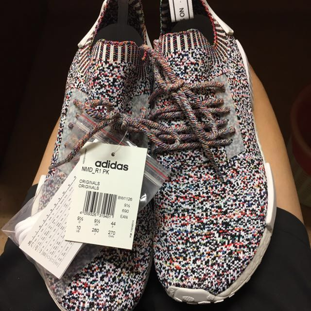 low priced 90368 267eb 100% AUTHENTIC ADIDAS NMD R1 PK NO SIGNAL COLOUR STATIC ...