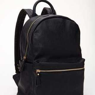 Looking for black leather backpack