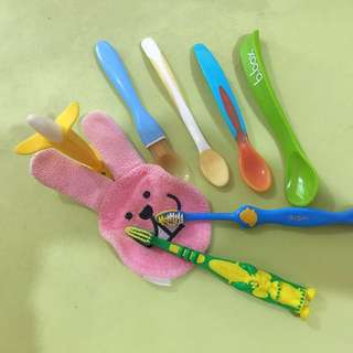 Utensil & Cleaning Set