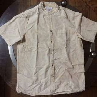 S Urban Outfitters Beige Shirt