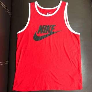 The Nike Tee 背心 紅