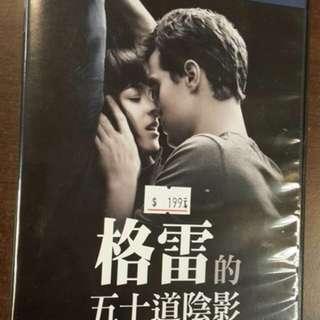 二手片DVD 愛情電影👉格雷的50道陰影👈