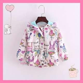 Jaket bayi anak perempuan