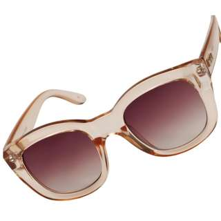 Le Specs Runaways Crystal Blush