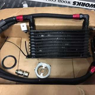 Oil cooler 9 rows by Element racing
