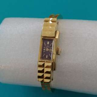 Vintage Bucherer Bangle Ladies Watch 古董女裝手錶 (Gold Plated)