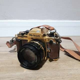 Nikon FA (24 Karat Gold Platted) collectors item