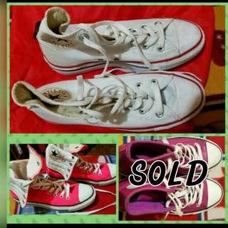 Repriced! Sale! Authentic Converse size 8