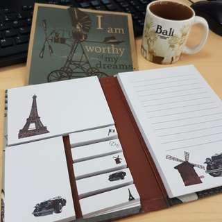 Cute Sticky Notes Folder