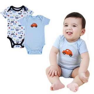 Mother Nest High Quality Romper/Onesie baby boys 2 pcs