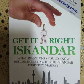 Get it right Iskandar: What investors should know before investing in the iskandar property market