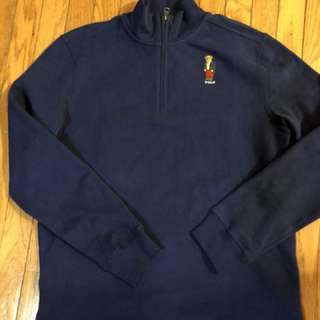 Polo Bear quarter zip