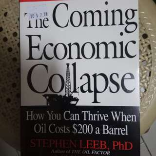 🚚 The coming economic collapse