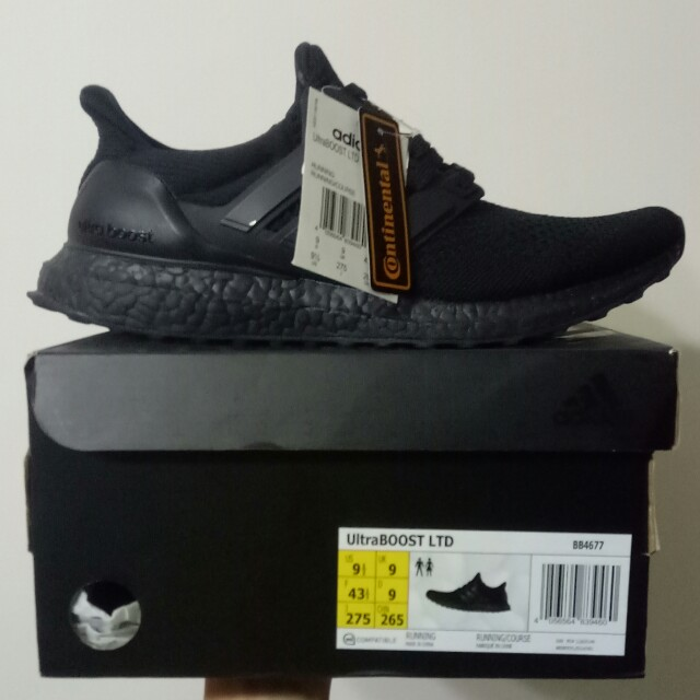 9c28ef7e22c13 1.0 Ultra boost triple black Ltd ultraboost