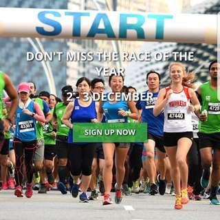 Standard Chartered Singapore Marathon 2017 - Full Marathon - Local - Individual