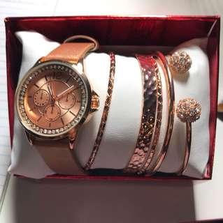 Watch & bracelets