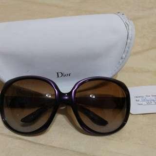 🚚 Dior濱琦步代言墨鏡/紫色太陽眼鏡